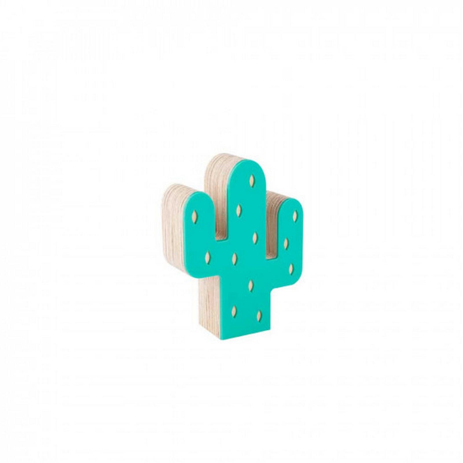 Mini Cacto de Acrílico Verde