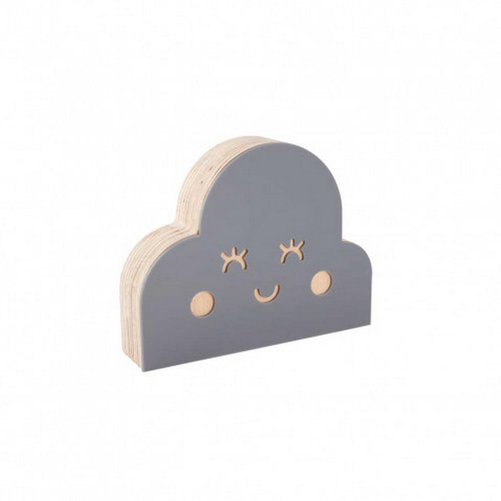 Nuvem de Acrílico Cinza