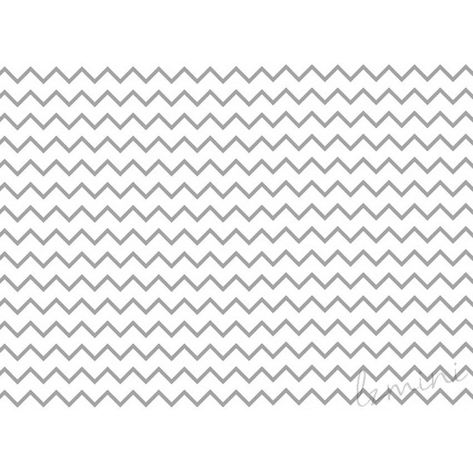 Papel de Parede Chev H=3m CINZA ESCURO Vinil Adesivo