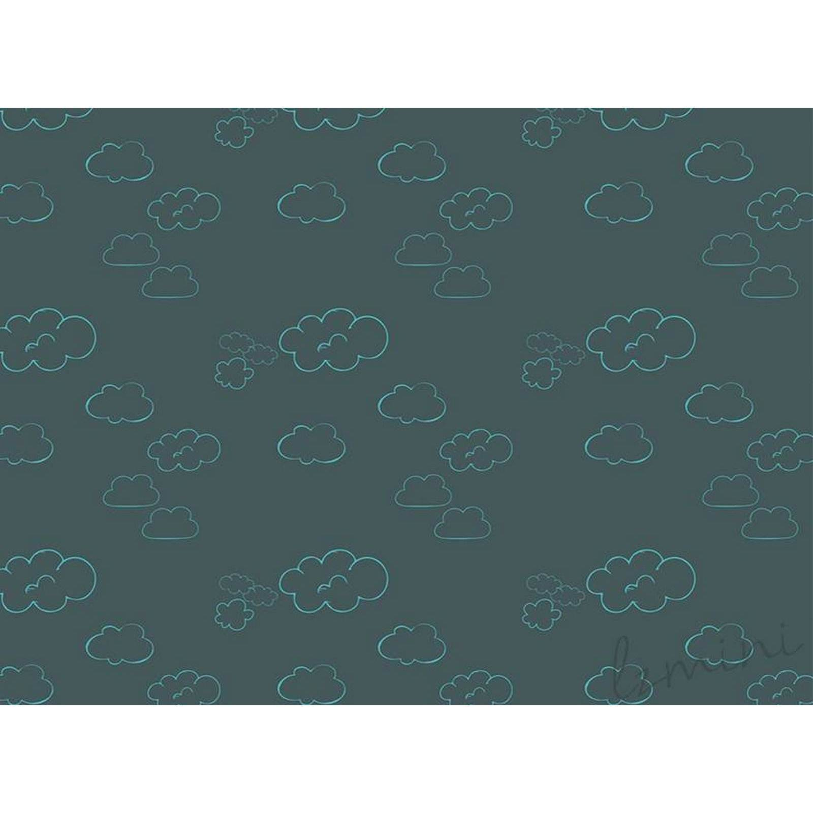 Papel de Parede Cloud H=2,50 CINZA ESCURO Papel de Parede