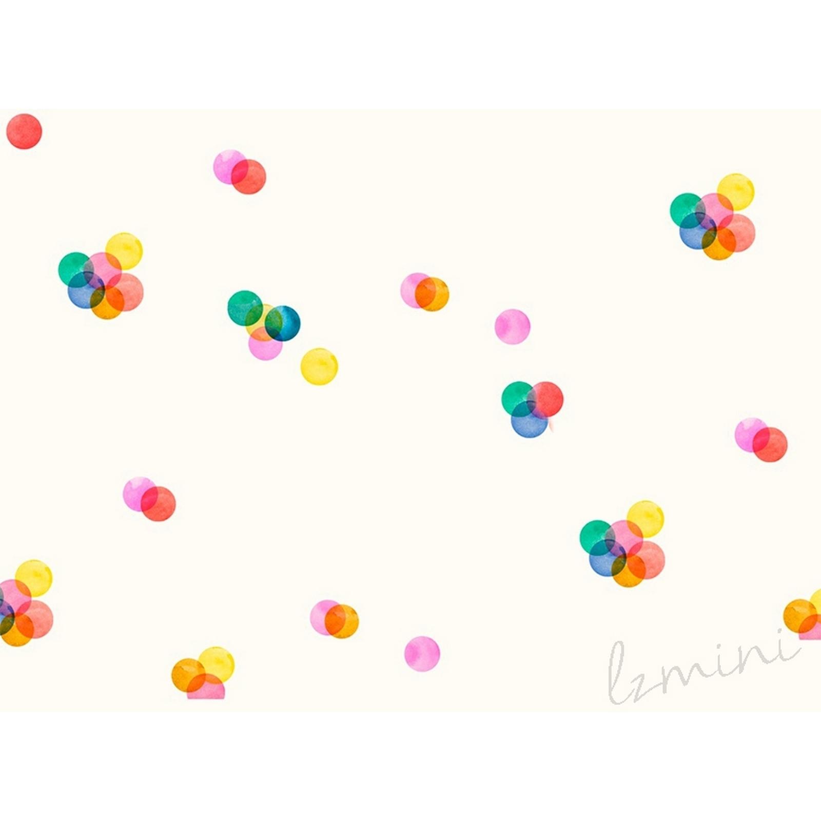 Papel de Parede Confete H=2,50 Vinil Adesivo