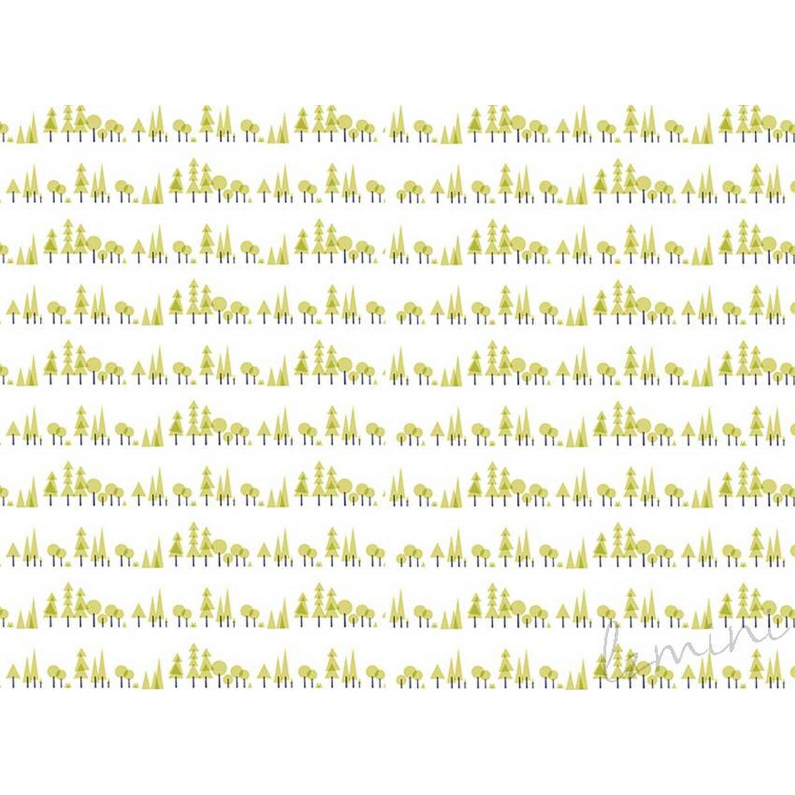 Papel de Parede Pinheiro H=2,50 Verde Papel de Parede