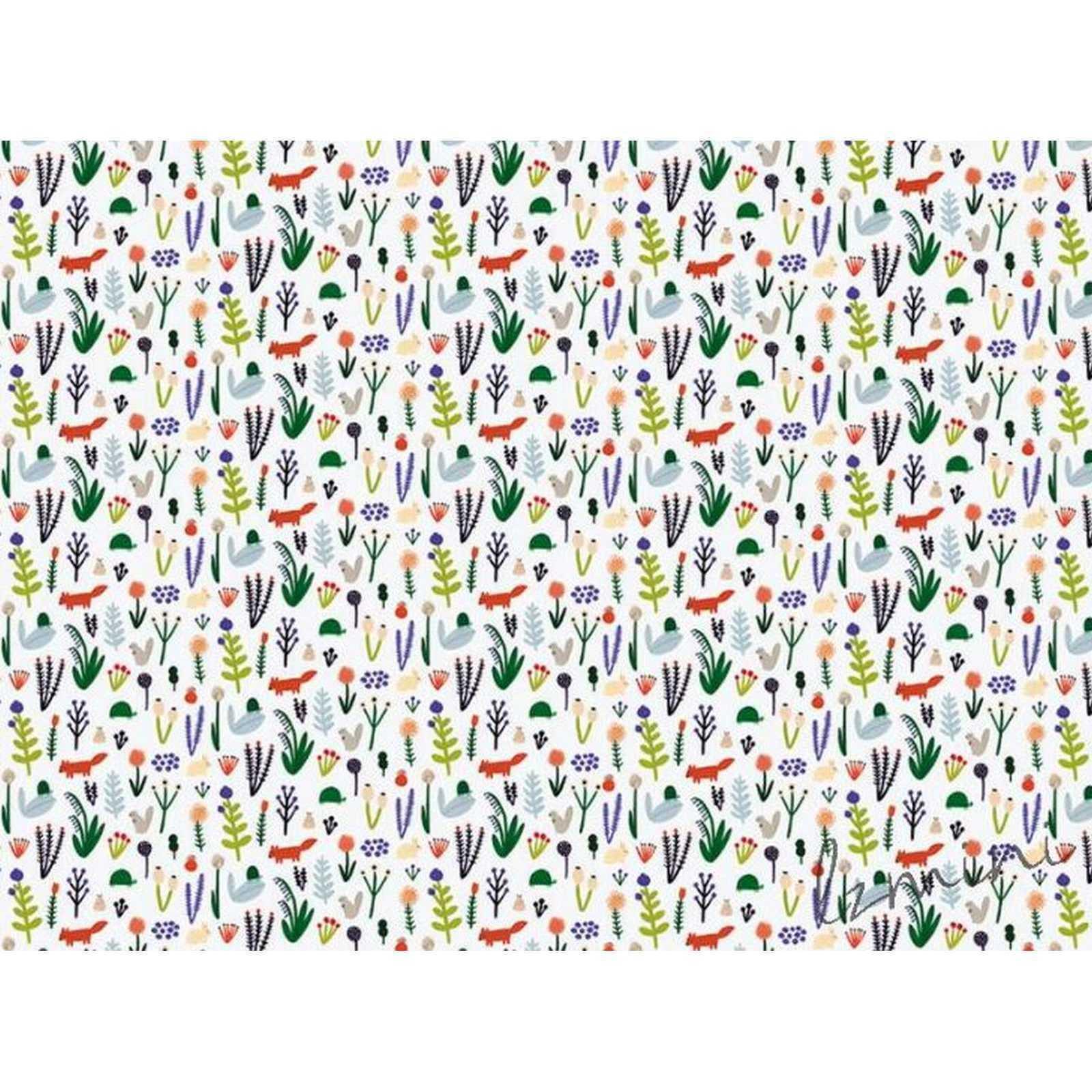 Papel de Parede Plants H=3m Vinil Adesivo