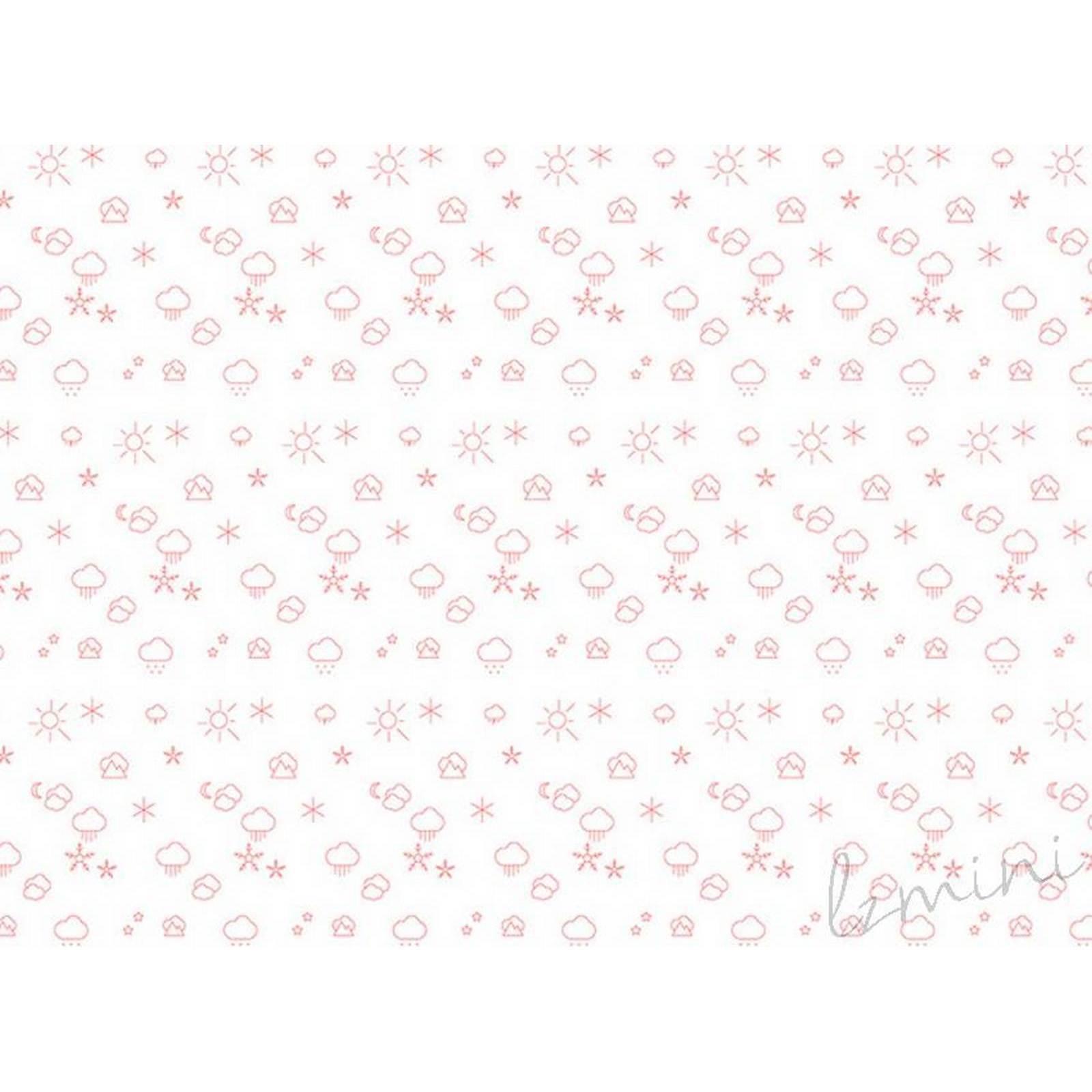 Papel de Parede Time H=2,50 Vermelho Papel de Parede