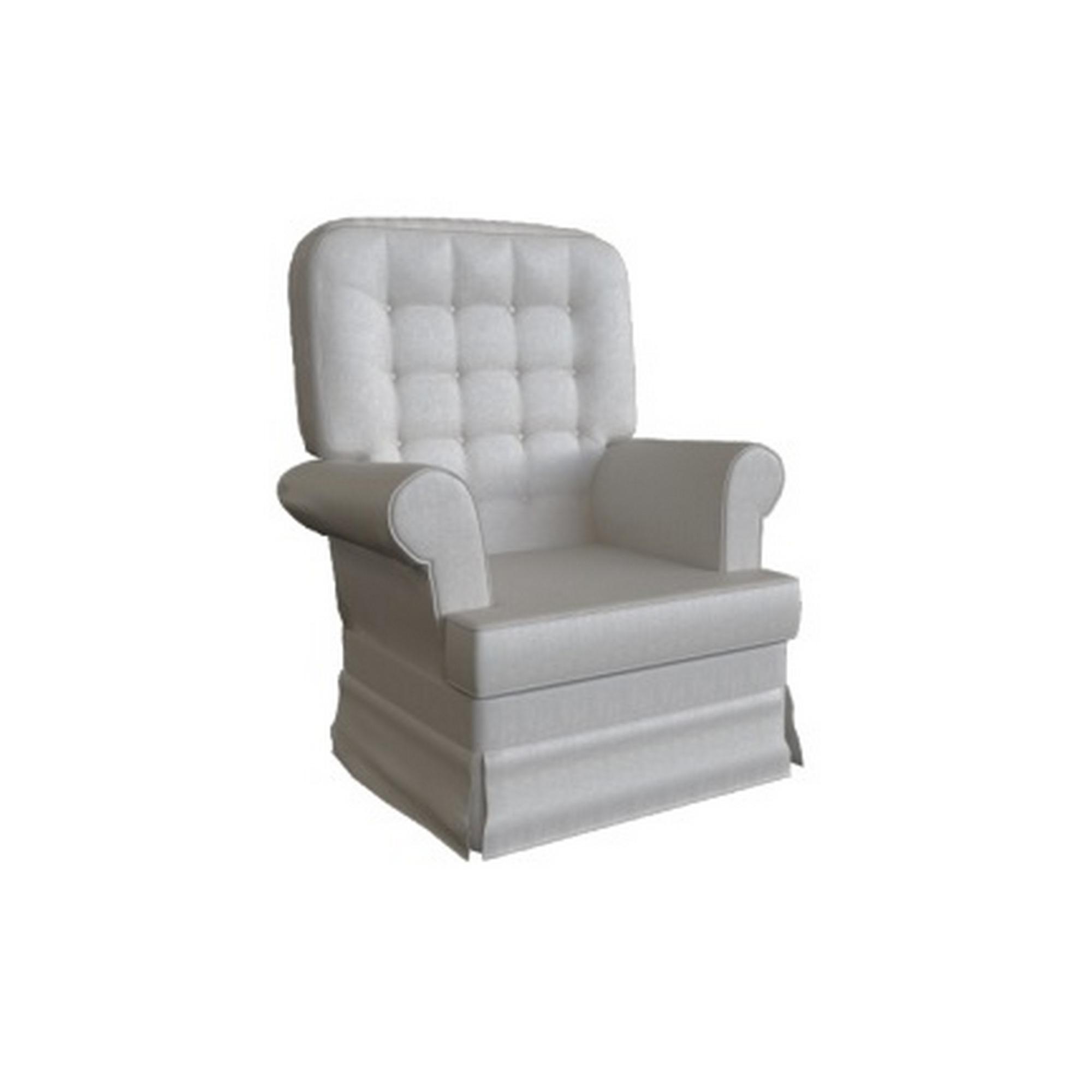 Poltrona Comfort Balanço Sarja Rustico Garnier