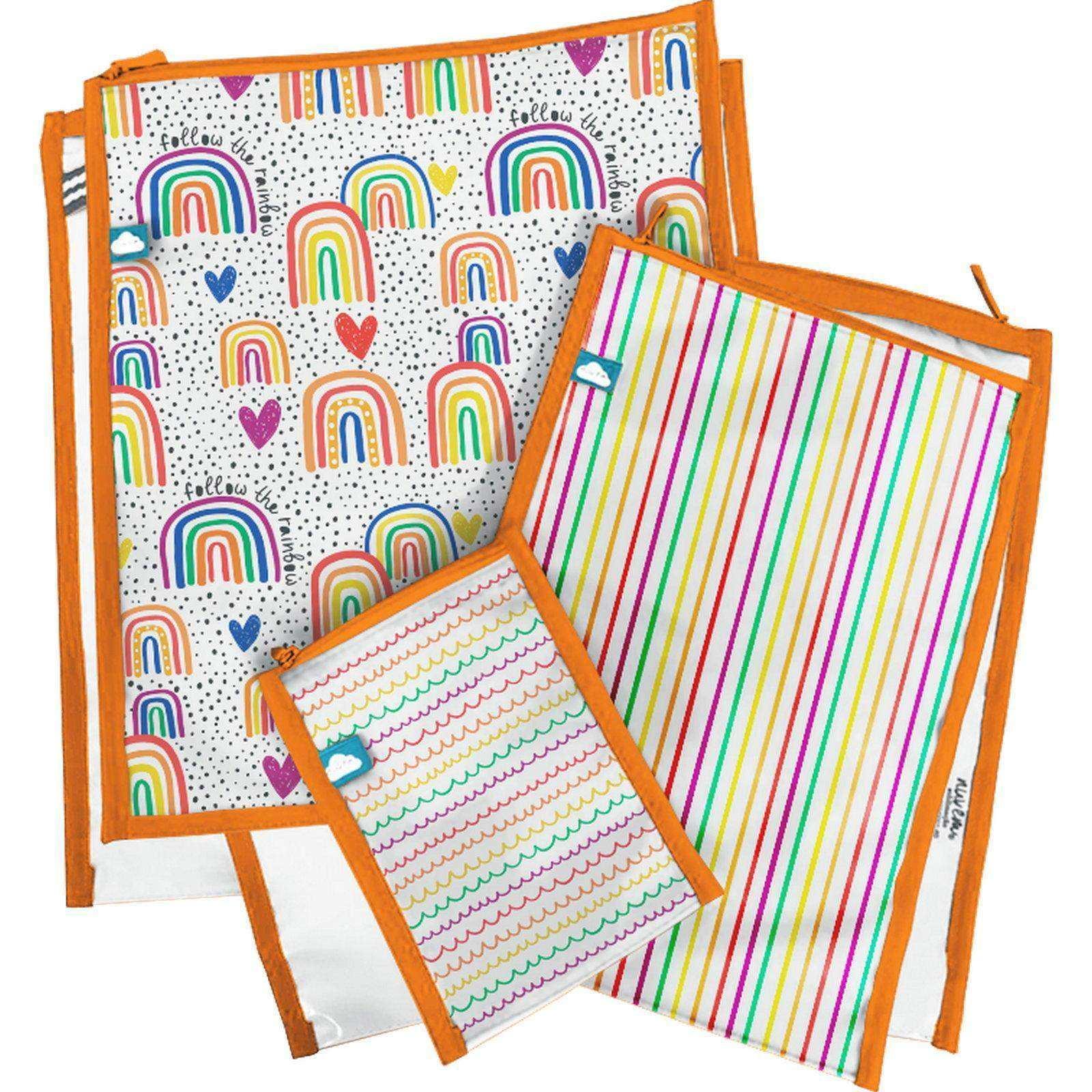 Jogo de Organizadores de Envelope Rainbow