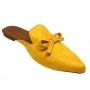 Mule Amarelo Mostarda MegaChic