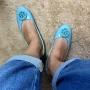 Sapatilha Azul Turquesa  MegaChic