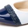 Sapatilha Branco com Azul