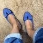 Sapatilha Jeans com Laço MegaChic