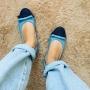 Sapatilha Jeans Dual MegaChic