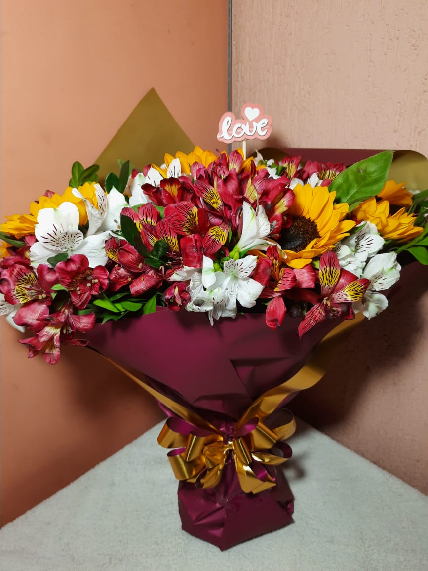 Bouquet de Flor do Campo Duplo