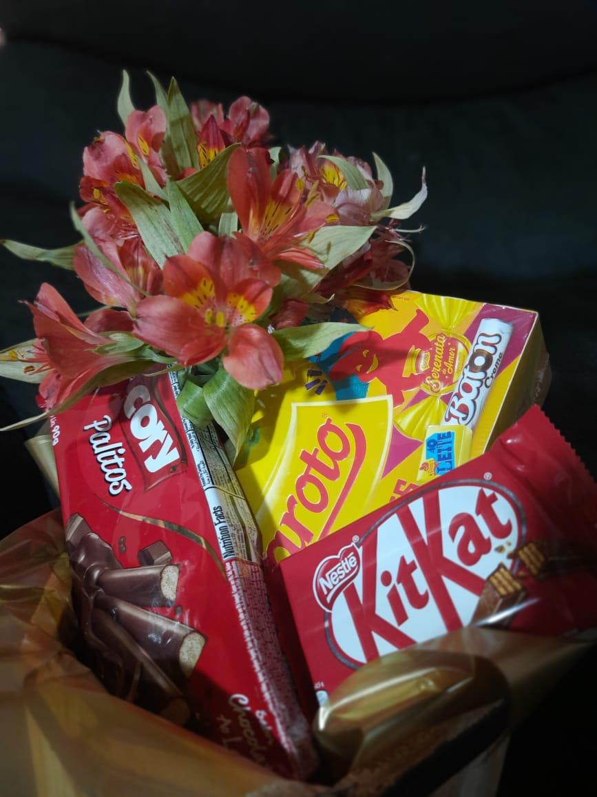 Kit Mulher Especial Chocolates