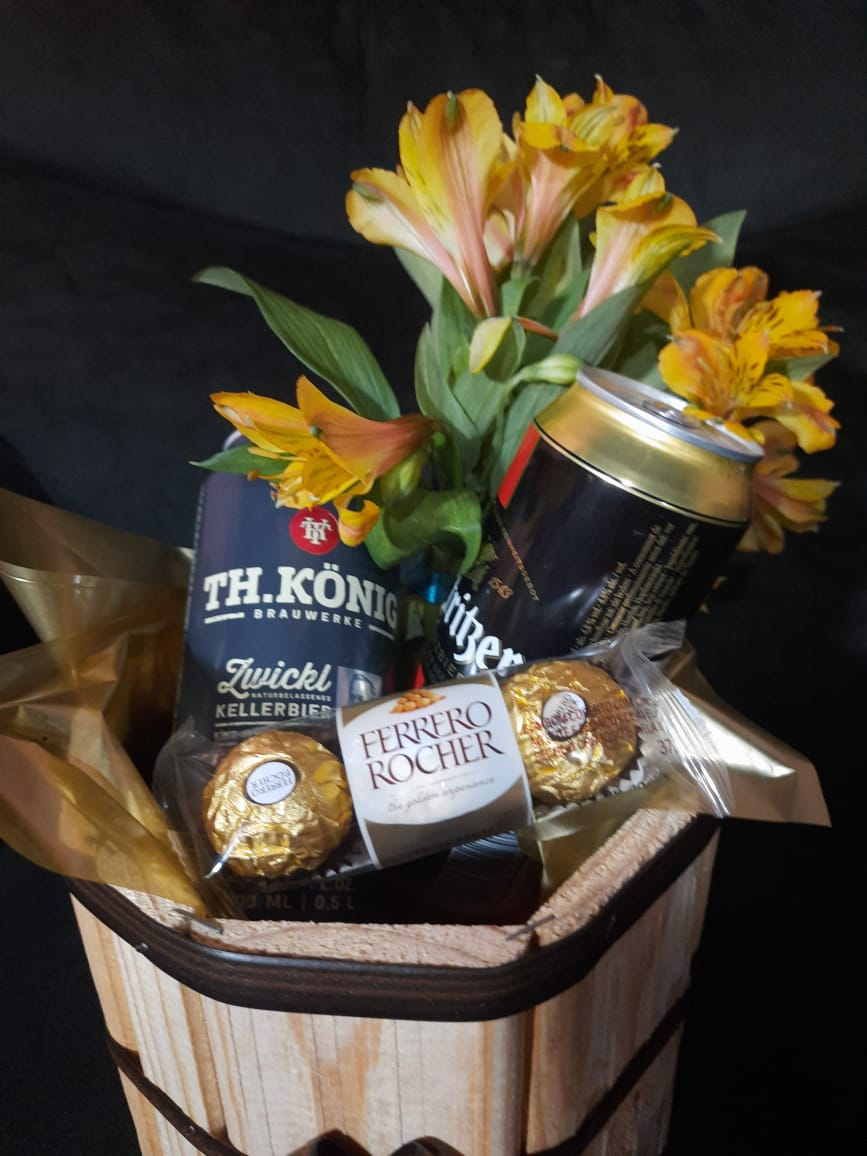 Kit Mulher Especial Kostritzer + TH KONIG + Ferrero Rocher