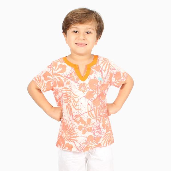 Bata Infantil Palmeira Laranja Charpey