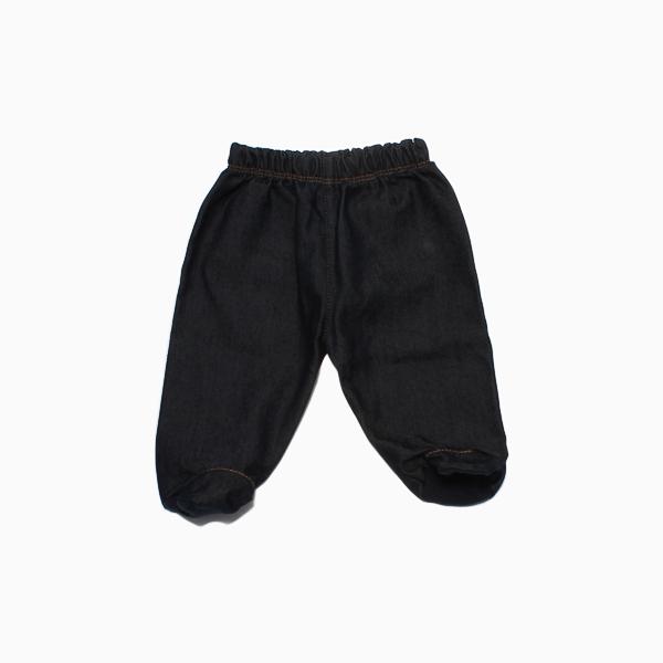 Calça Jeans com Etiqueta Bolso Empório Baby
