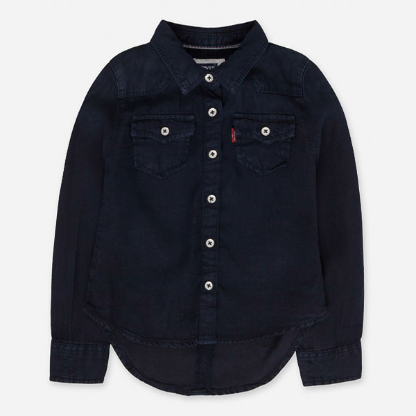 Camisa Infantil Core Denim Levis