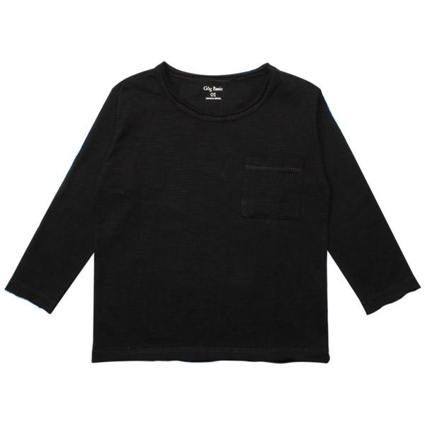 Camiseta Flamê Infantil M/L Preto Gôg Basic