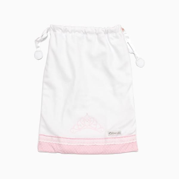 Saco de Roupa Suja Coroa Princesa D`Bella for Baby
