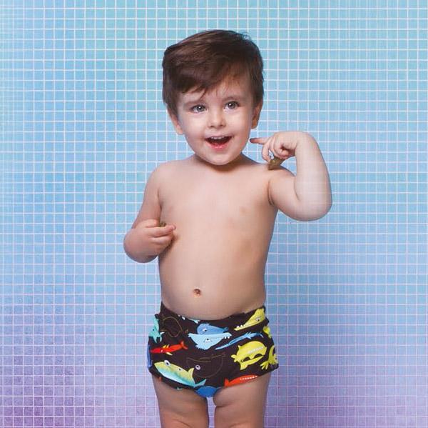 Sunga Kids Caique Peixe Louco Siri Kids