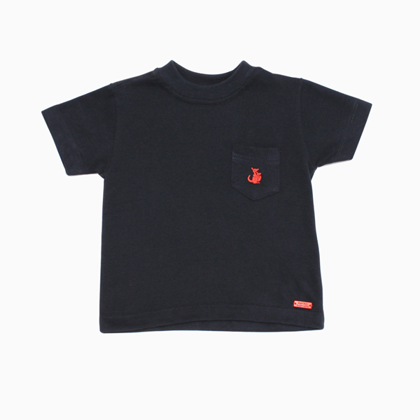 Camiseta Azul Marinho com Bolso Empório Baby