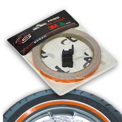 Adesivo de Roda Speed Style Laranja