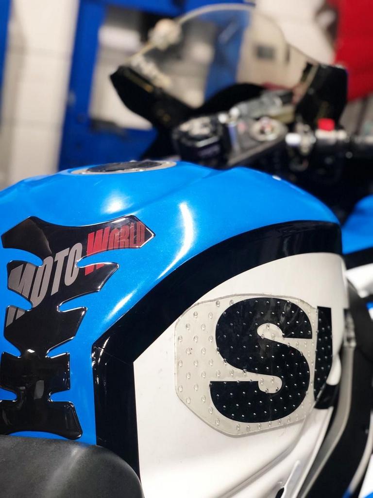 Adesivo de Tanque Moto Knee Stop
