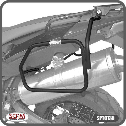 Afastador de Alforje (tubo) BMW F800GS - 2008+