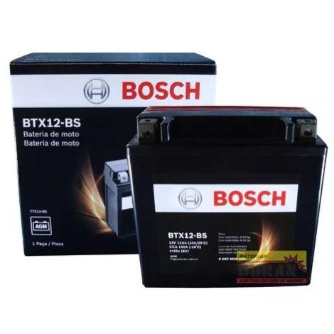 Bateria Bosch BTX12-Bs (YTX14L-Bs)