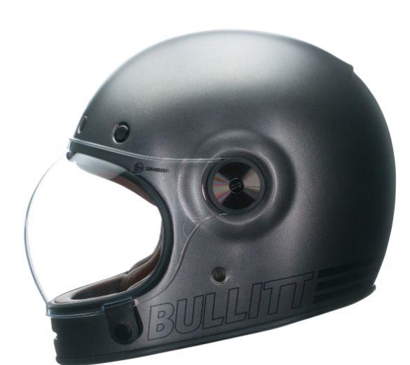 Capacete Bell Bullitt Retro Metalic - 1 Viseira