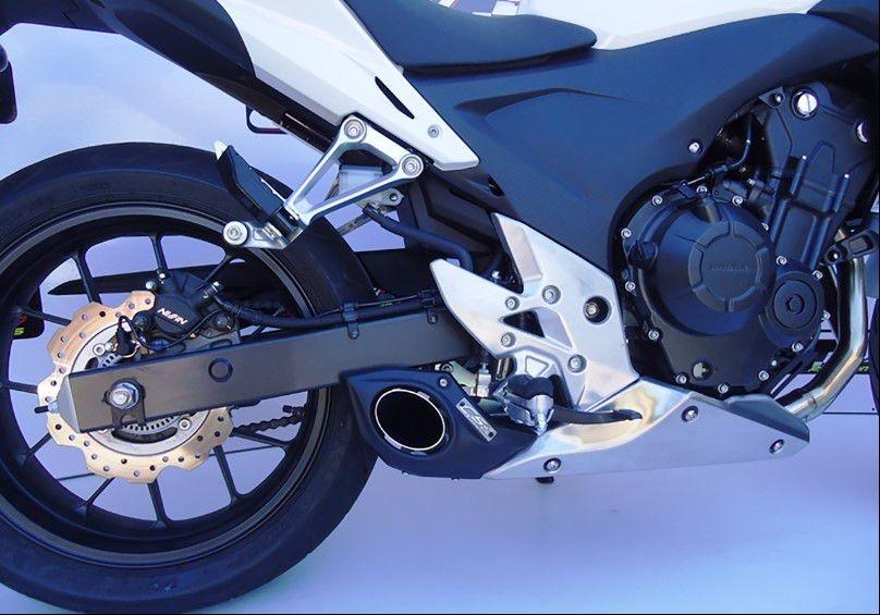 Escapamento Esportivo CB 500 F/R/X Full Completo 2013/2015 Honda CS