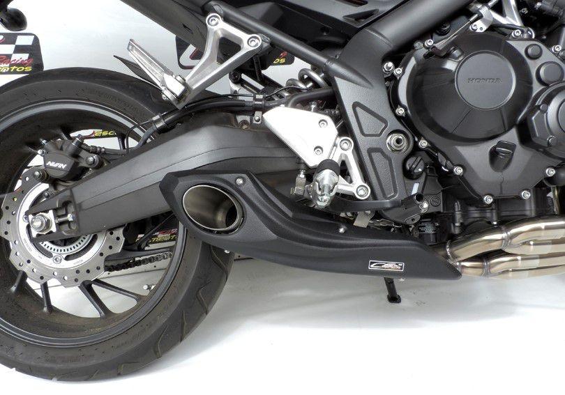 Escapamento Esportivo CB 650F Full Completo 2014/2019 Honda CS