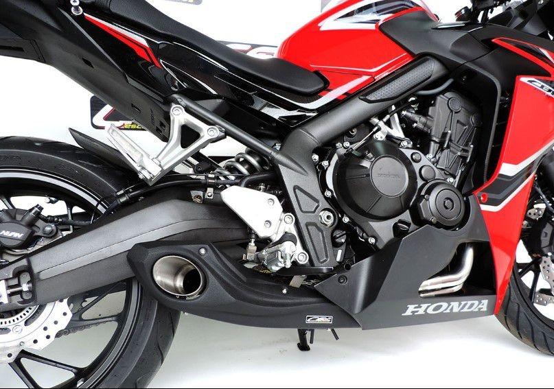 Escapamento Esportivo CBR 650F Full Completo 2014/2019 Honda CS