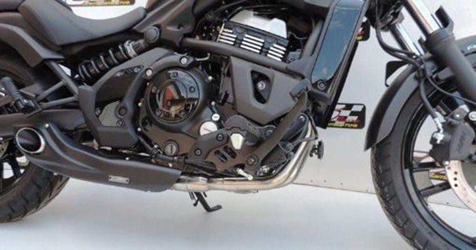 Escapamento Esportivo Vulcan 650 650S Full Completo Kawasaki CS