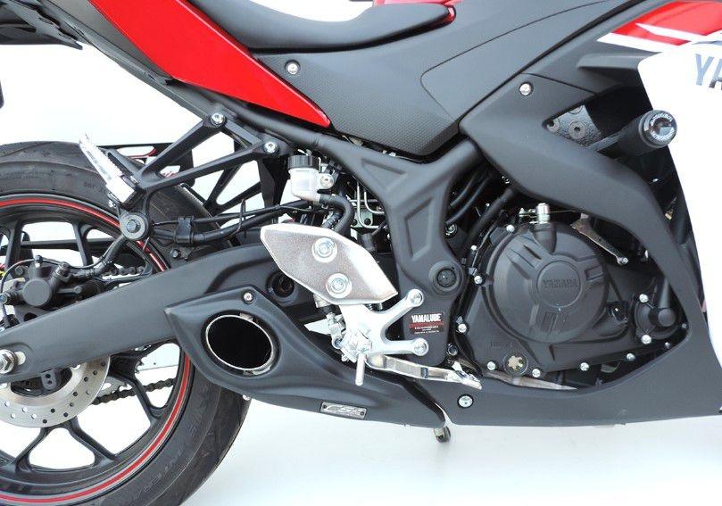Escapamento Esportivo YZF R3 Full Completo Yamaha CS