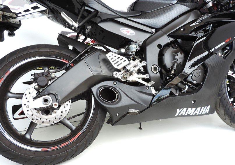 Escapamento Esportivo YZF R6 Full Completo 2007/2016 Yamaha CS