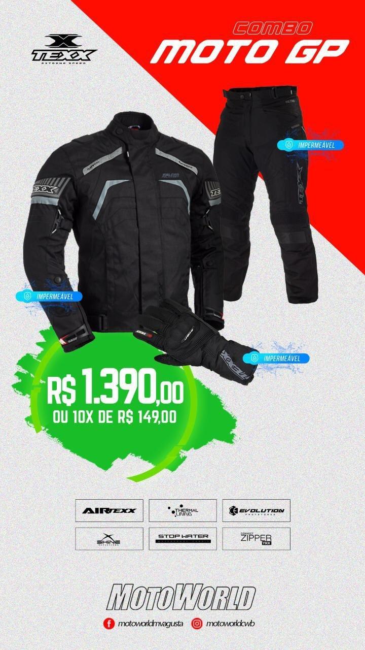 Kit Equipamento Texx Moto GP