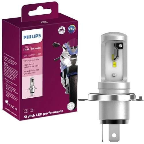 Lâmpada Philips H4 Led Ultinon Moto