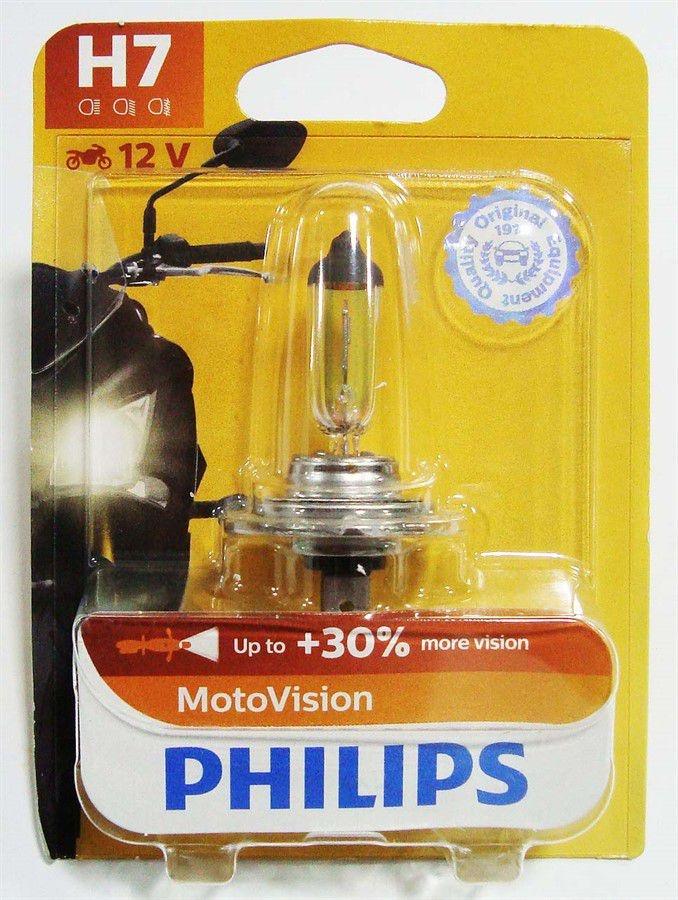 Lâmpada Philips H7 55W Motovision