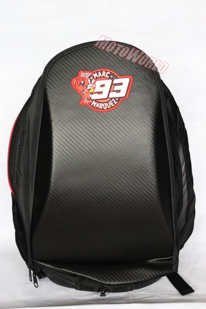 Mochila Para Motociclistas 93 - com Capa Impermeável