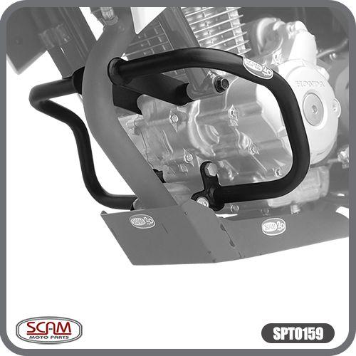 Protetor de Motor Carenagem CB Twister 250 2016 em Diante Honda  Scam