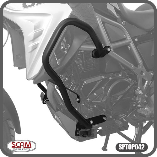 Protetor de Motor Carenagem F800GS 2008 em Diante BMW Scam
