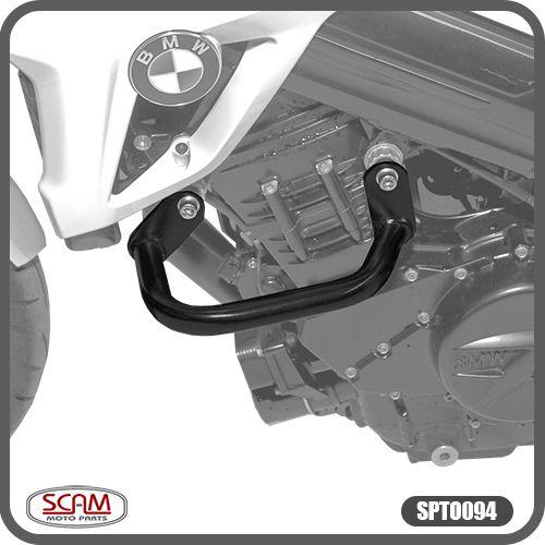 Protetor de Motor Carenagem F800R 2010 em Diante Modelo Alca BMW Scam