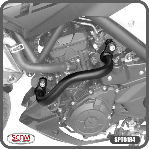 Protetor de Motor Carenagem MT-03 2015 em Diante Modelo Alca Yamaha Scam