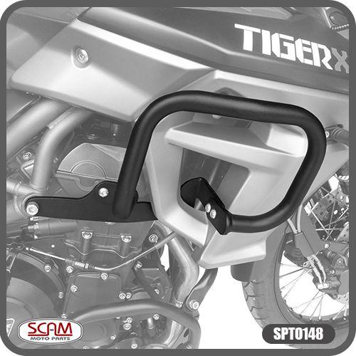Protetor de Motor Carenagem Tiger 800 2015 em Diante Triumph Scam