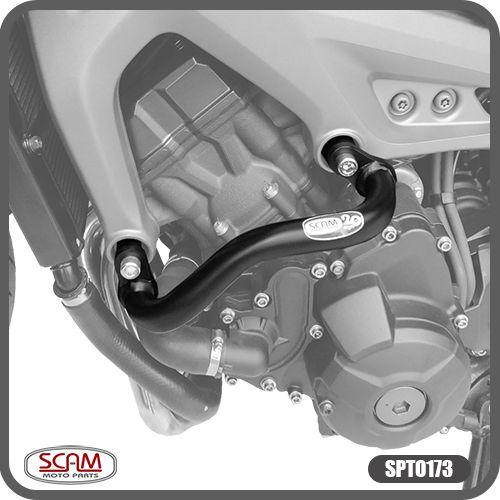 Protetor de Motor Carenagem Tracer 900 GT 2020 em Diante Modelo Alca Yamaha Scam