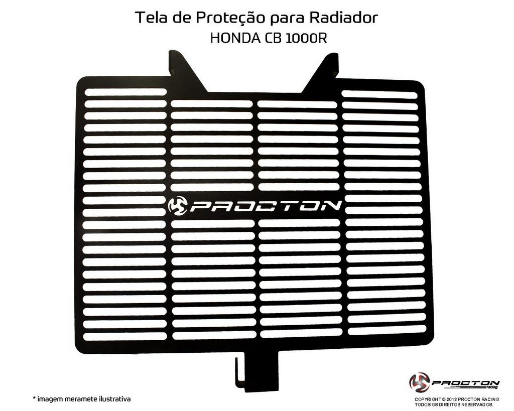 Protetor de Radiador Honda CB1000R 10/16 Procton