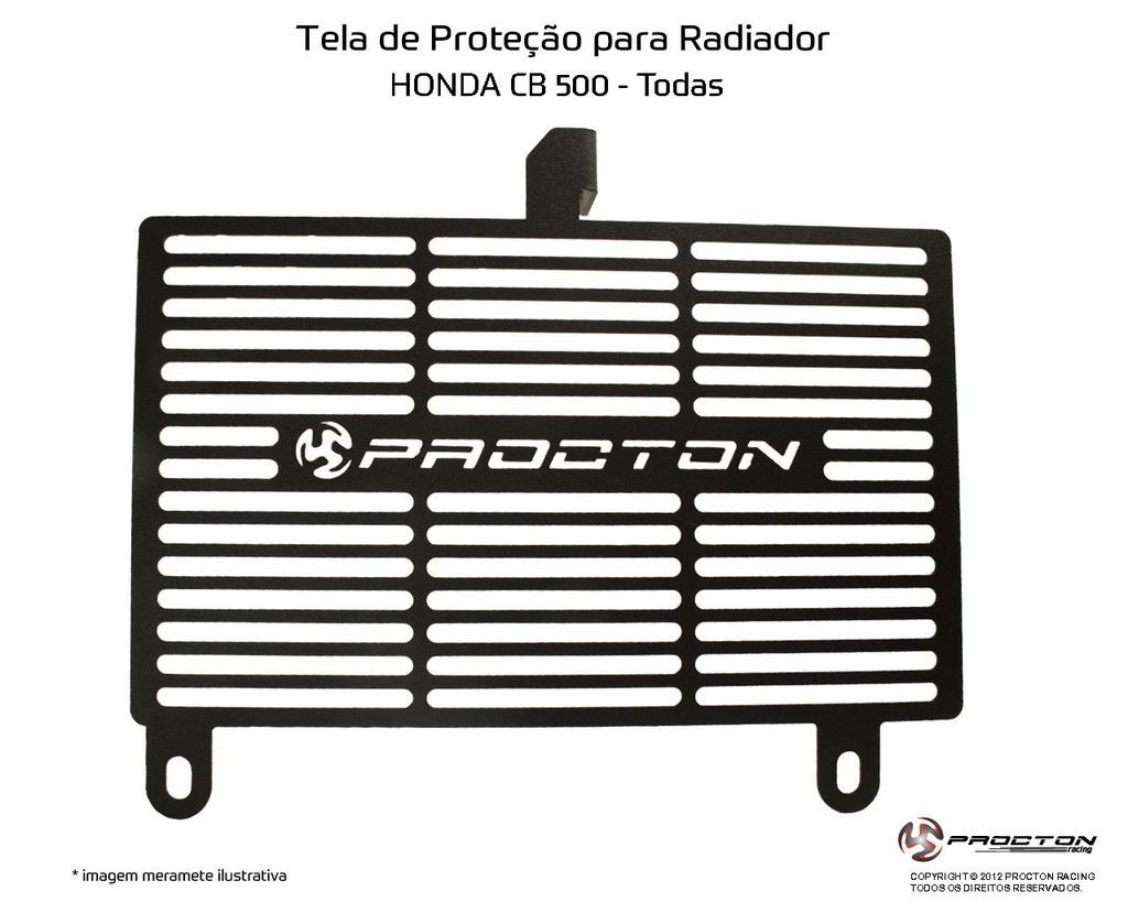 Protetor de Radiador Honda CB 500 14/18 Procton