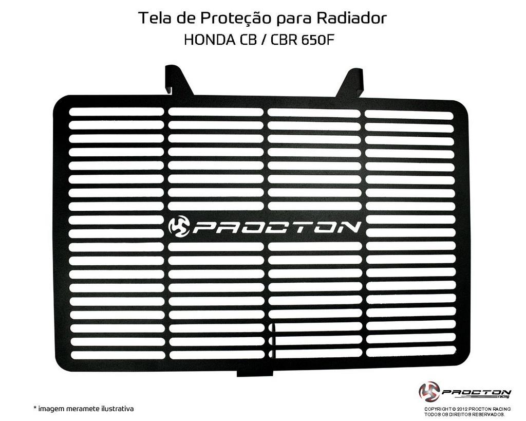 Protetor de Radiador Honda CB 650F Procton