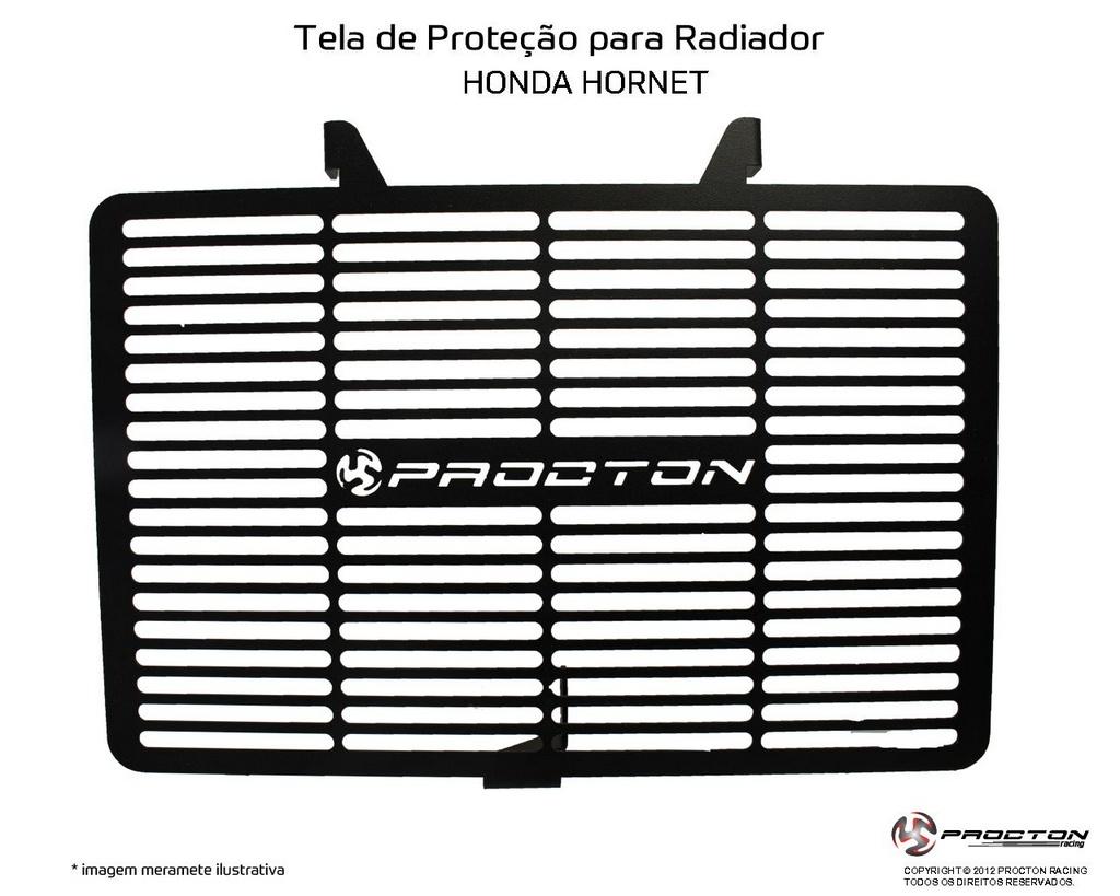 Protetor de Radiador Honda Hornet 600 2008/2016 Procton
